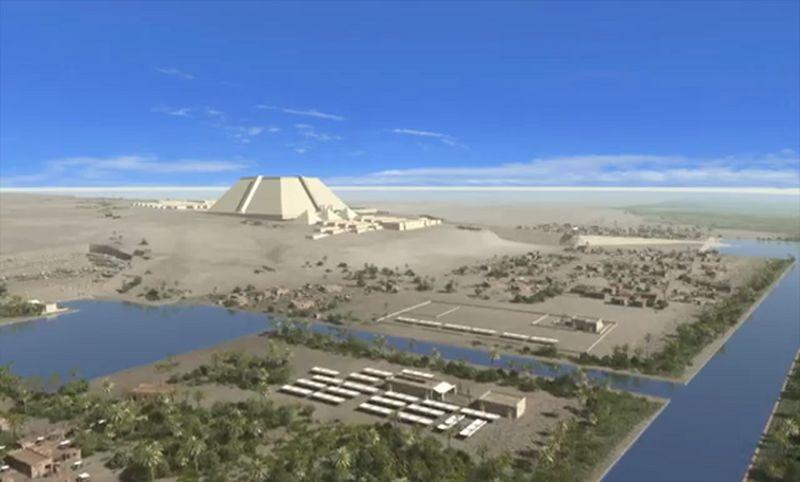piramitin inşası