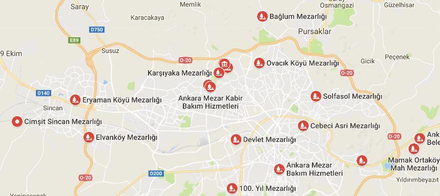 Ankara Mezarlıkları