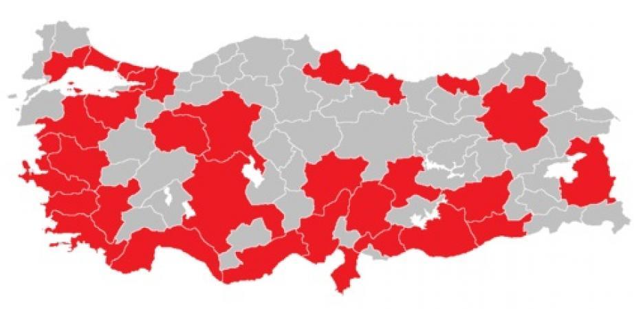 Türkiye'de büyükşehir belediyeleri