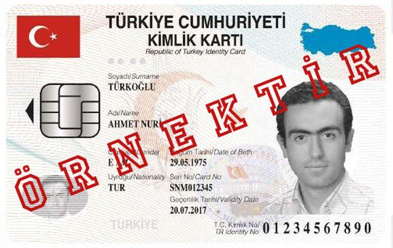 kimlik kartı