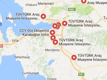 İzmir Araç Muayene İstasyonları
